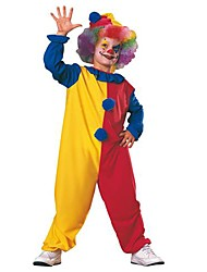 cheap -Burlesque Clown Cosplay Costume Kid's Halloween Festival / Holiday Cotton Carnival Costumes / Hat