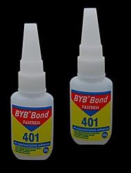 cheap -1PCS 15ml BYB Acrylic Art Bond Nail Glue Fastness Adhesiveness