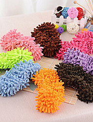 cheap -Chenille Shoes Cover for Cleaning One Pair