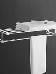 cheap -Towel Bar Cool Contemporary Brass 1pc - Bathroom Double Wall Mounted