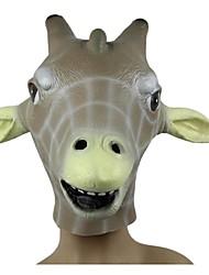 cheap -JOIN NEW ® Latex Giraffe Head Mask Halloween Party Prop