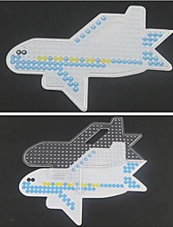 cheap -Fuse beads Plane / Aircraft 5mm Template Plastic Toy Gift