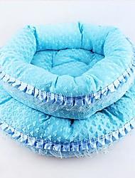 Недорогие -Матрас Кровати Одеяла Животные Коврики и подушки Ткань Синий Розовый