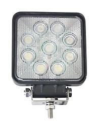Недорогие -Автомобиль Лампы 27W 9 Рабочее освещение Назначение