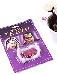 Недорогие -макияж зубы шутка гаджеты игрушки