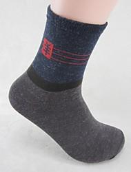 Недорогие -skymoto®5 пары / серия мужские толстые хлопчатобумажные носки (смешивать цвета)