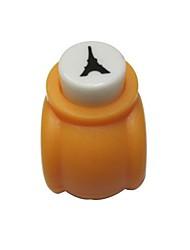 Недорогие -Эйфелева башня шаблон металла мини удар (случайный цвет)