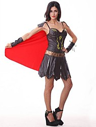 cheap -Roman Costumes Cosplay Costume Women's Halloween Festival / Holiday Polyester Women's Carnival Costumes / Cloak