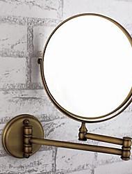 cheap -Bathroom accessories-adjustable / foldable / antique brass / glass 1-mirror shower accessories