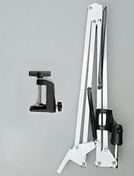 Недорогие -белый микрофон подвеска ножничный кронштейн подставки монтирования md31