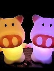 Недорогие -привело обесцвечивают свинья форме световых Хэллоуин реквизит (Random Color)