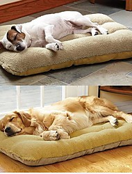 cheap -Large Dog Pet Nest with Lamb Suede Mat (The only case) 95*60