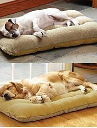 Недорогие -\ Большая собака животное гнездо с бараниной замши матовый 100 * 56