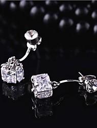 Недорогие -мода высокого класса циркона австрийские кристаллы рождественские серьги
