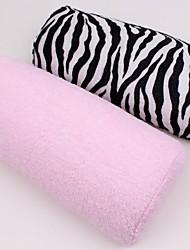 abordables -nail art peut défaire et laver main oreiller en coton / main repose (couleurs assorties)