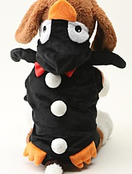 cheap -Dog Sweater Winter Dog Clothes Warm Black Costume Terylene Cotton S M L