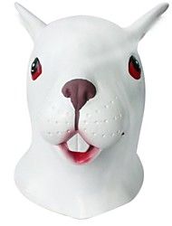 cheap -JOIN NEW ® Latex Rabbit Head Cover Halloween Party Prop