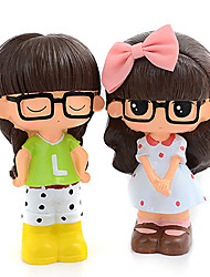 cheap -Girl Doll Novelty Robot Rubber Toddler Boys' Girls' Toy Gift