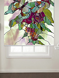 cheap -Blinds  Roller Shade Eco-friendly Mount Inside Painting 100% Polyester