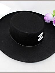 Недорогие -Зорро шляпа Хэллоуин маскарад реквизит
