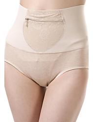Недорогие -женские моды чистые цвета высотой талии послеродовой формовки трусики
