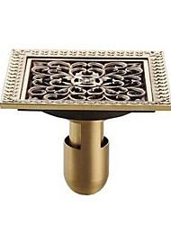cheap -Drain Removable Antique Brass 1 pc - Hotel bath