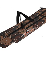 cheap -120cm Fishing Rod Bag Multifunctional Durable Waterproof Camouflage Double Layer Outdoor Fishing Bag