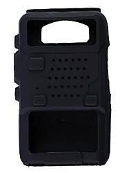 Недорогие -Защитный силиконовый рацией радиостанция случае Baofeng uv5r 5'а 5RE 5RB, uv5replus и больше (разные цвета)