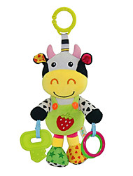 cheap -Babyfans ™ Baby Cute Cow Cartoon Stuffed Music Toys