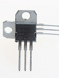 cheap -L7805CV  Voltage Regulator 5V/1.5A TO-220 (5pcs)
