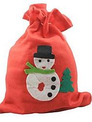 Недорогие -30 * 20 см Рождество пропуск подарок сумку