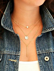 cheap -Pearl Pendant Necklace Pearl Necklace Ladies European Pearl Alloy Golden Necklace Jewelry 1pc For Party Daily Casual