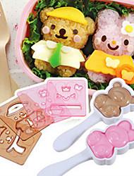 Недорогие -Rabbit Медведи Веселье пластик Детские Игрушки Подарок