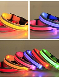 cheap -Fashion Highlight Night Safety LED Flash Collar for Dogs(Assorted Size,Assorted Color)