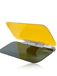 Недорогие -автомобильные солнцезащитные козырьки и козырьки дневные и ночные противобликовые очки ночного видения зеркало для вождения универсальное
