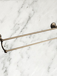cheap -Towel Bar High Quality Antique Brass 1 pc - Hotel bath 2-tower bar