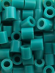 Недорогие -около 500 шт / мешок 5мм озера синие Perler бисер предохранителей бисер Hama бисер DIY головоломки Ева материал Сафти для детей