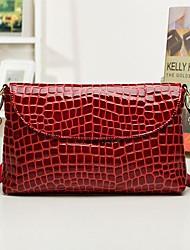 Недорогие -женщин досуг простой камень лакированные сумки посланник плеча сумку
