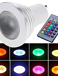 cheap -E26/E27 LED Spotlight 1 High Power LED 180 lm RGB Remote-Controlled AC 85-265 V