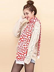 cheap -Women's  Fashine Lovely Falbala Knitting Wool Long Tassel Winter Warm Scarf