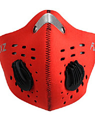 cheap -FJQXZ Sports Mask Pollution Protection Mask Windproof Quick Dry Dust Proof Bike / Cycling Red Orange Blue Mesh Winter for Men's Women's Adults' Cycling / Bike / Mountain Bike MTB / Road Bike Cycling
