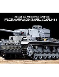 Недорогие -Хэн Длинные 1/16 Panzerkampfwagen III SdKfz RC Battletank