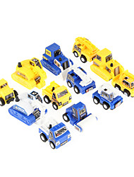 cheap -12pcs kids fun mini construction engineer s pull back car toy