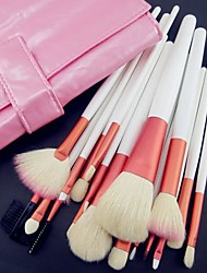 cheap -Professional Makeup Brushes Makeup Brush Set 18 Goat Hair / Synthetic Hair / Artificial Fibre Brush for Makeup Brush Set / Goat Hair Brush