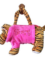 abordables -conception de tigre jouets en peluche sac à main douce