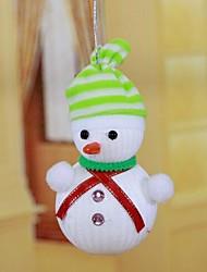 cheap -Stripe Hat Snowman Recommend New Christmas Decorations(Random Color)