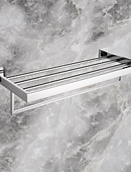 cheap -Towel Bar Contemporary Stainless Steel 1 pc - Hotel bath Double