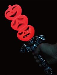 cheap -Three Pumpkin Heads LED Phonate Stick for Halloween