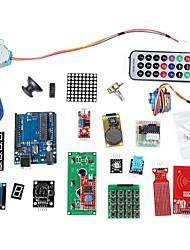 abordables -kit d'apprentissage du système de RFID w / uno étape r3 moteur module RFID rfid carte à puce rfid trousseau ic base pour Arduino