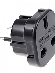 cheap -UK to EU AC Power Travel Plug Adapter Socket Converter 10A/16A 240V